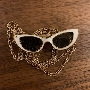 Kate Spade sunglasses necklace